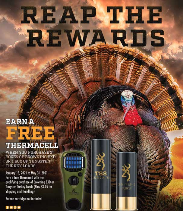 Browning Turkey Loads Rebate Details