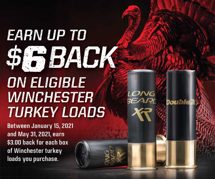 Winchester Turkey Loads Rebate Details