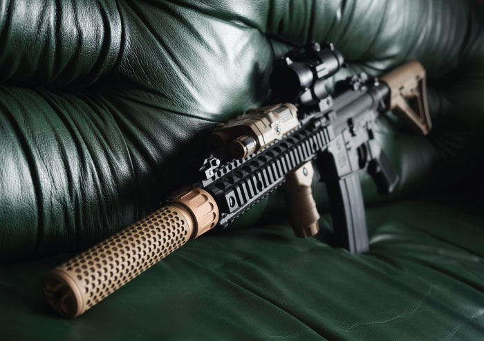 Using an AR-15 for home defense
