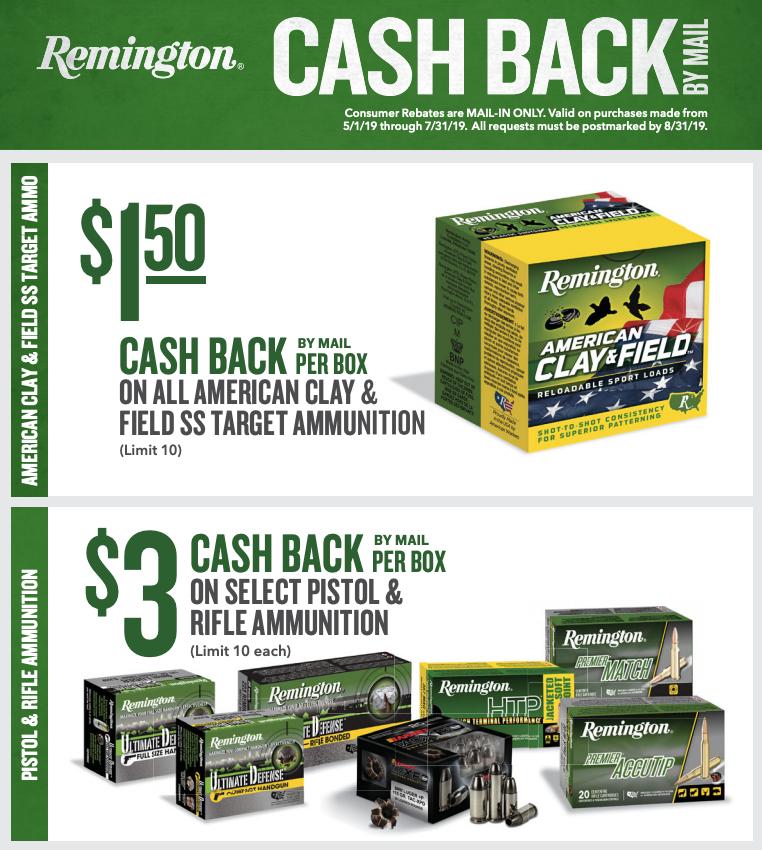 Remington Ammunition Rebate