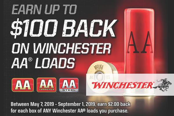 Winchester AA Loads Rebate