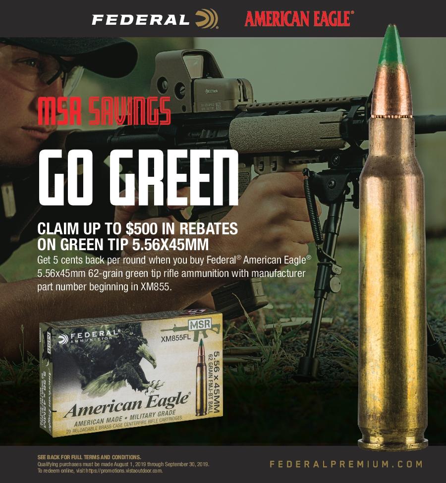 Federal Shoot Like a Pro Rebate