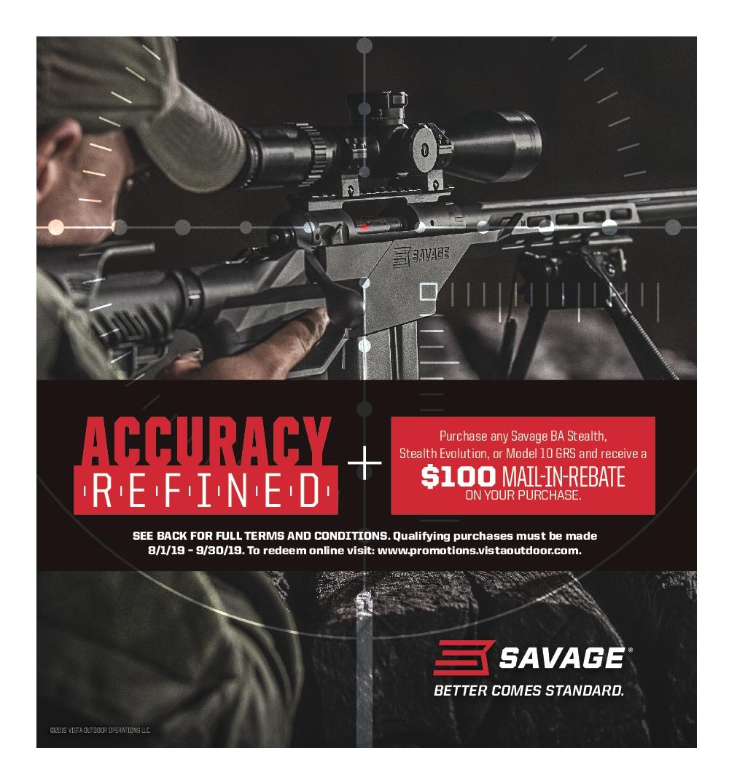Savage Arms Stealth Rebate