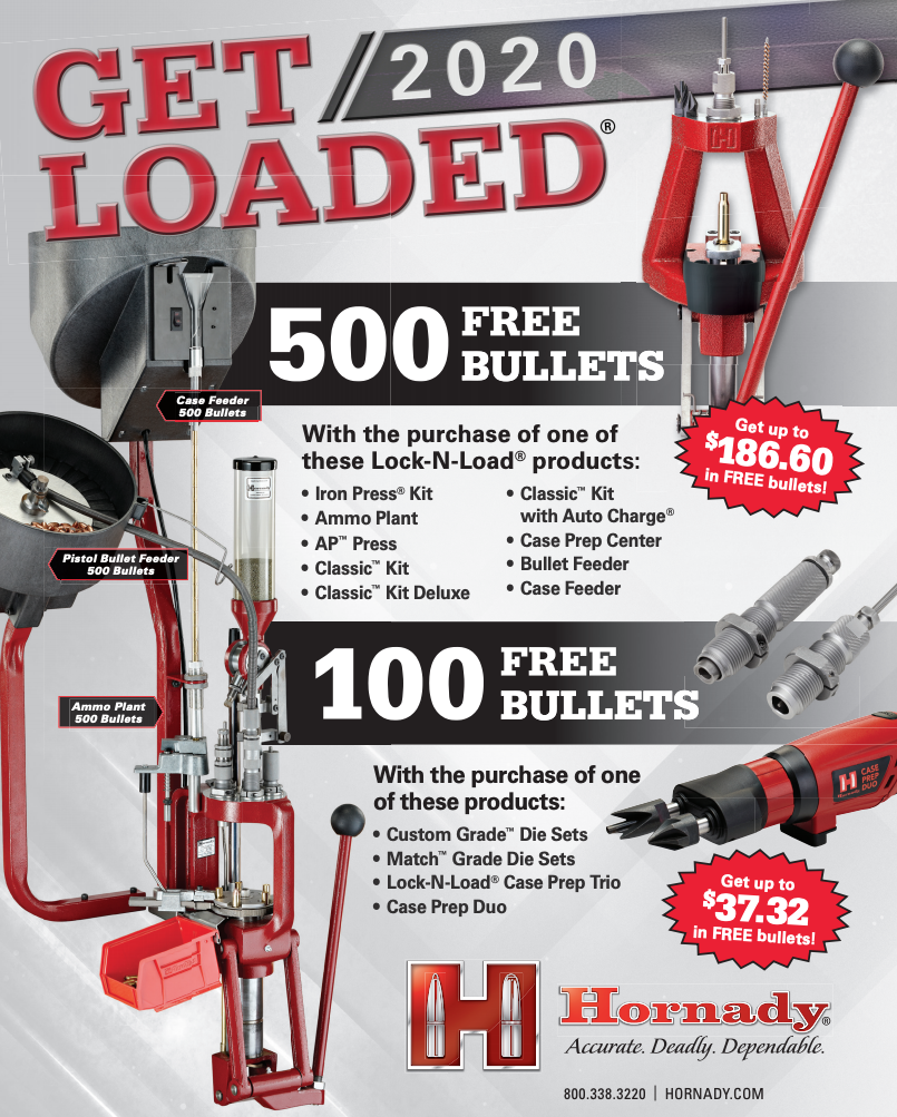 Hornady Get Loaded Rebate