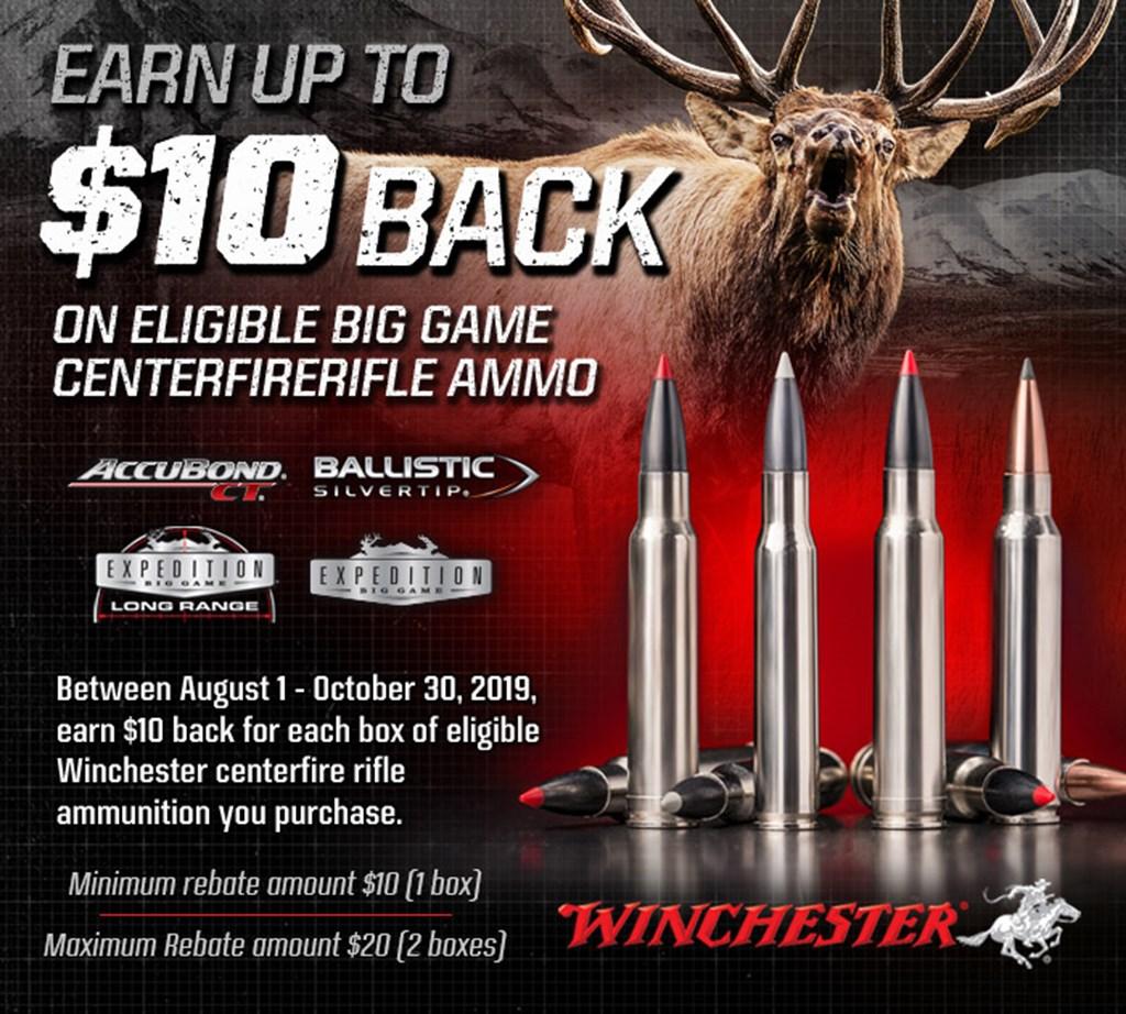 Winchester Dear Season XP Rebate