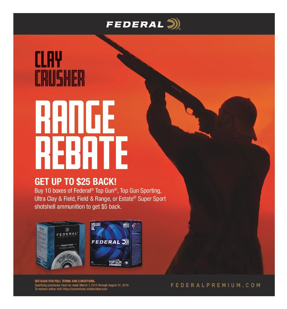 Federal Range Crusher Rebate