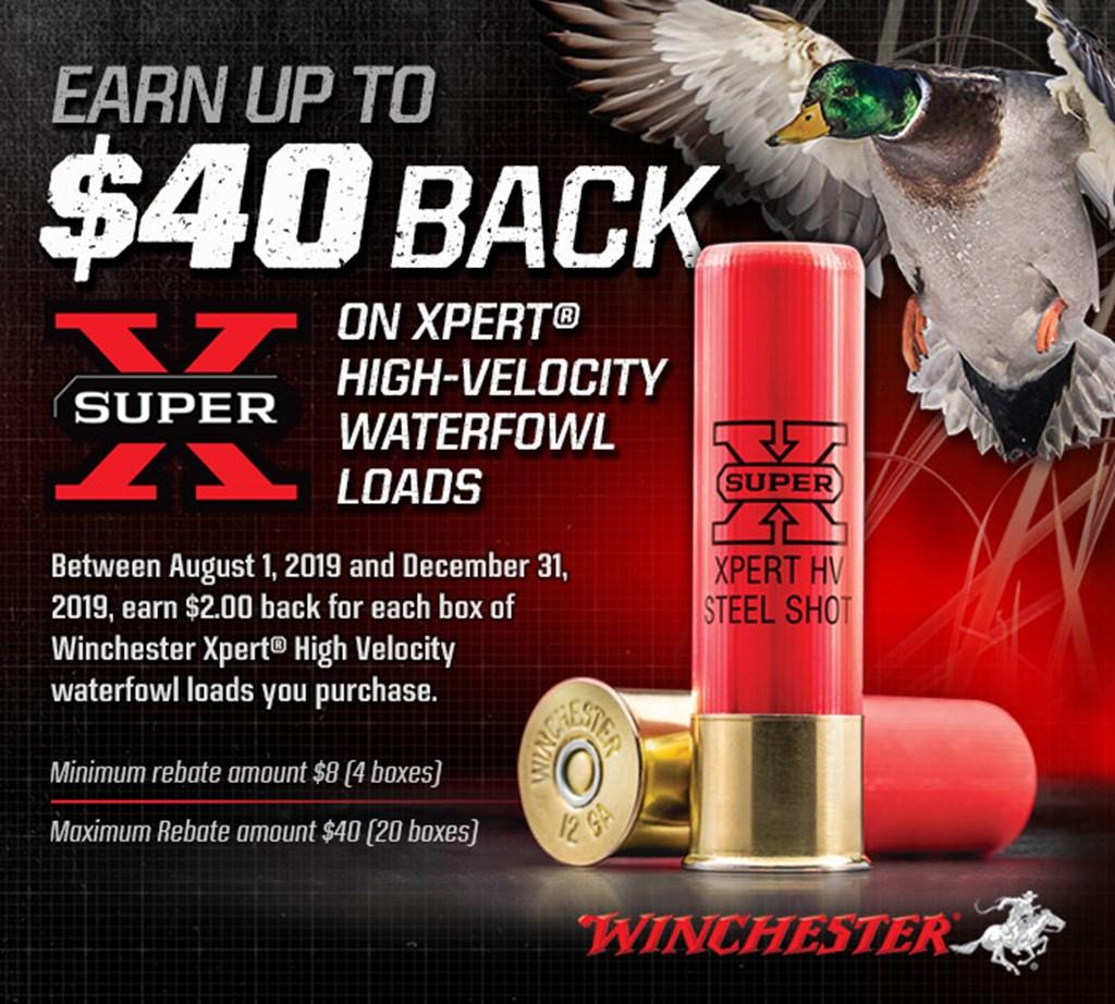 Winchester Super X XPert® Loads Rebate