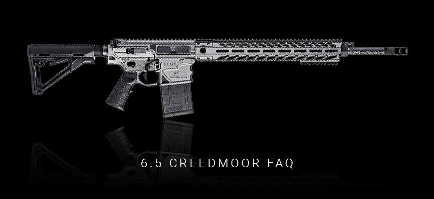 Creedmoor FAQ Header