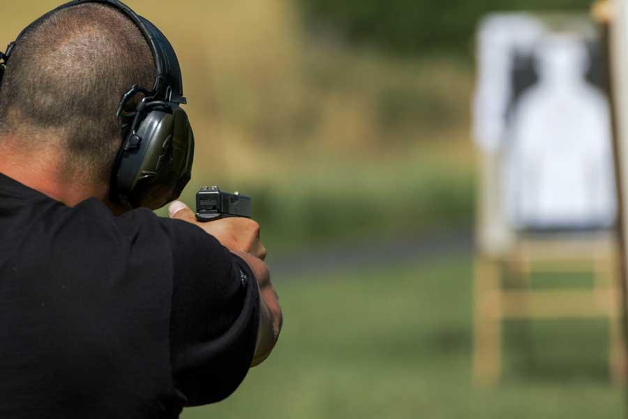 Handgun Shooting Stance - Standing