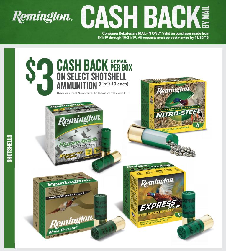 Remington Shotshell Rebate