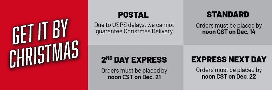 2020 Christmas Shipping Cutoff