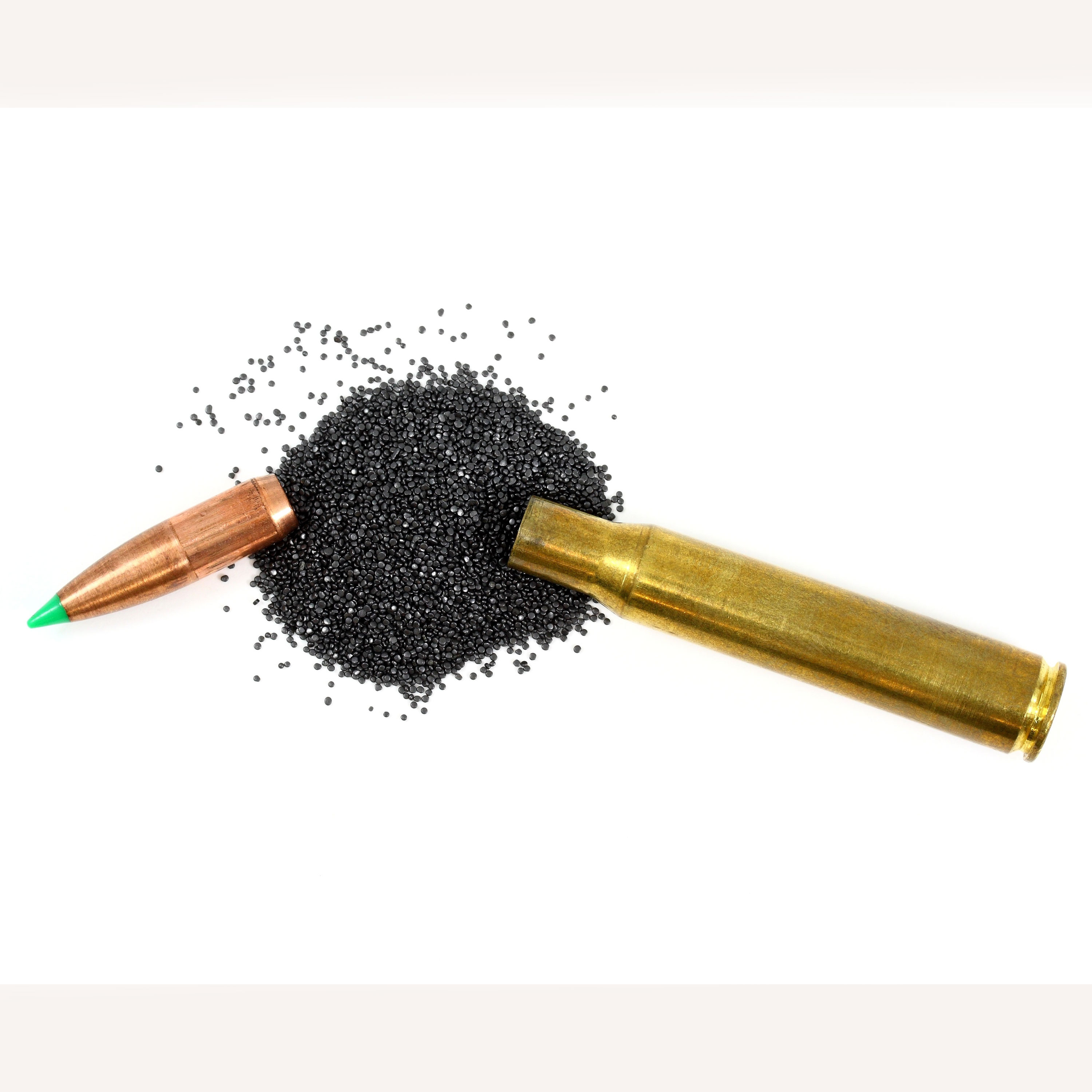 bullet with powder