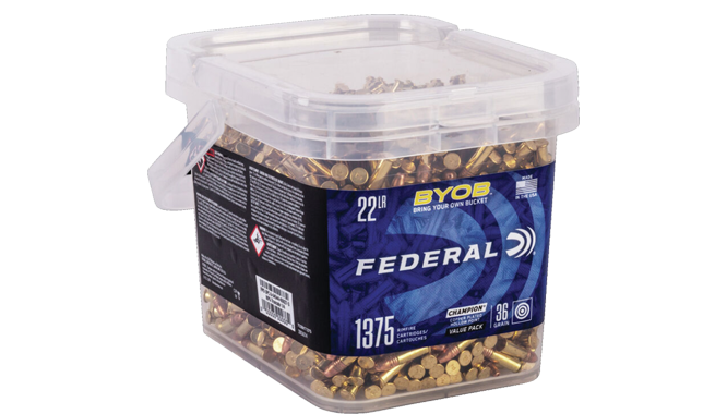 Stock up on Federal .22 LR Ammo