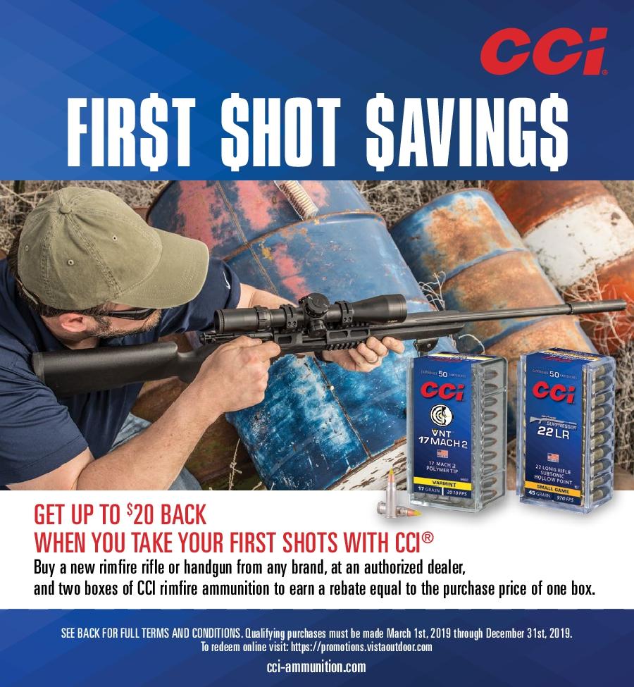 CCI First Shot Savings