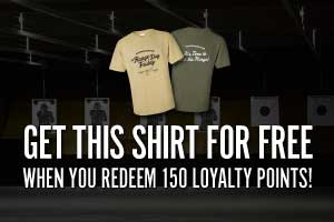Free rangedayfriday shirt for 150 loyalty points