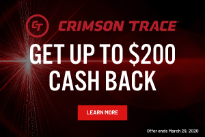 Crimson Trace Rebate - Receive up to $200 back - Click to learn more