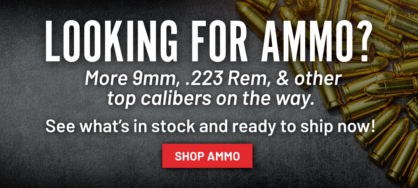 More ammo arriving daily